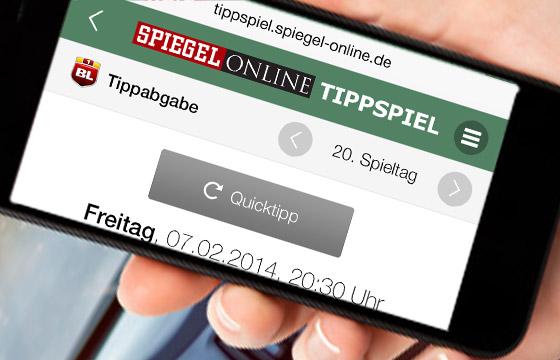 EM-Tippspiel Referenz: SPON Bundesliga-Tippspiel